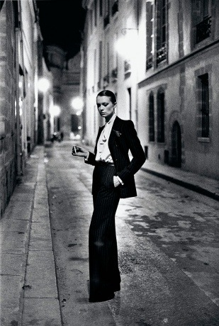 Rue Aubriot Photographer: Helmut Newton & Maconochie Collection: Paris Collections, White Women - (1975) Local: On Display @ Houston Museum of Fine Arts, Houston, TX aMUSEme…Debutante.