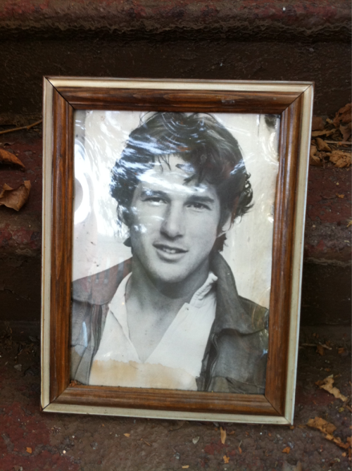 Hot, young Richard Gere portrait. Snagged in <24 hrs.  6th St.