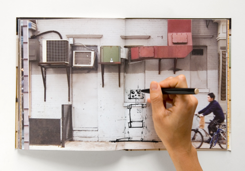 laughingsquid:  Walls Notebook Contains Photos of NYC Walls Instead of Blank Pages