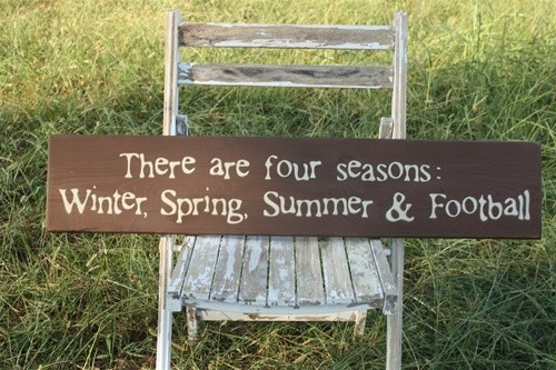 nerdinpearls:  Correction: Christmas, Spring, Summer & Football