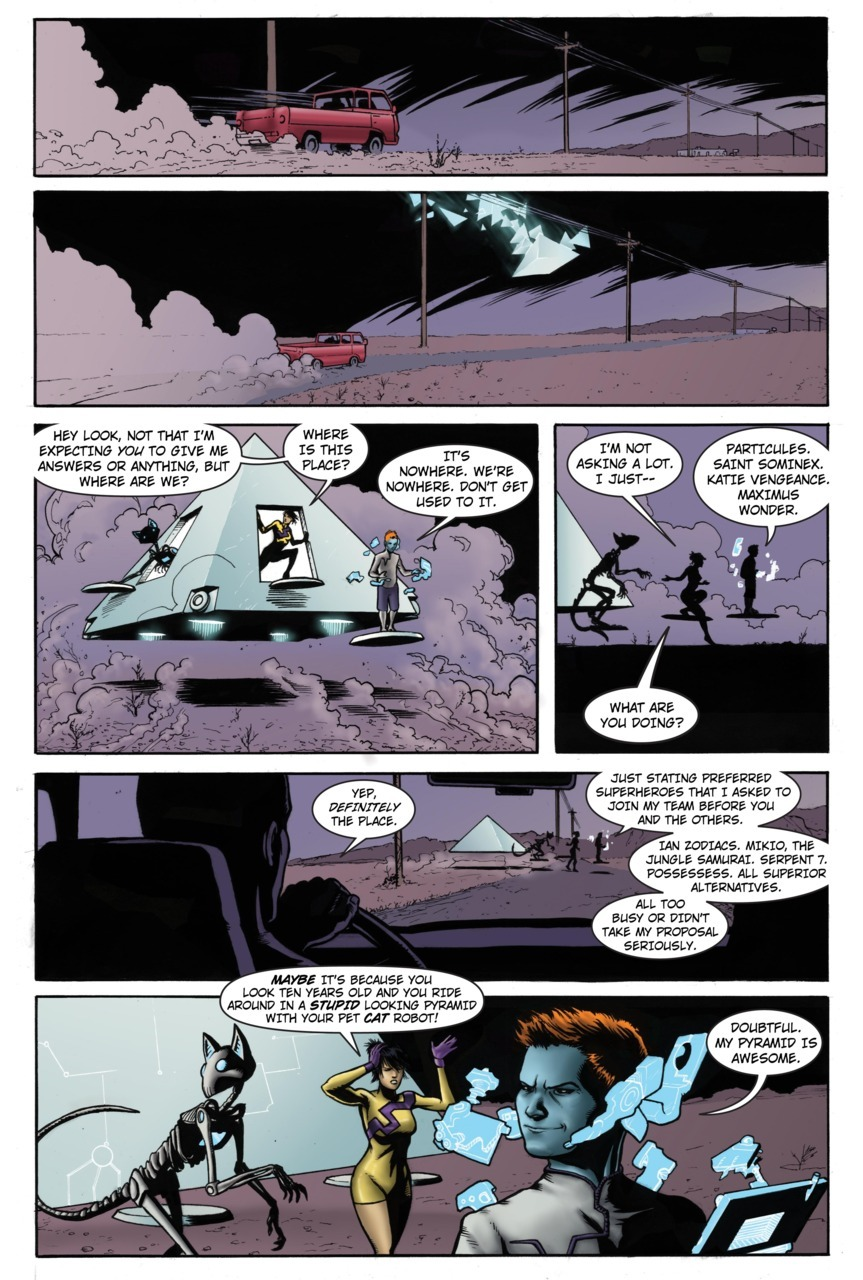 vitruvianunderground:  July 26th, 2011 - Issue One, Page One