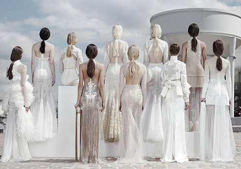 fuckyeahweddingideas:  Givenchy Couture 2011 Wedding Dresses