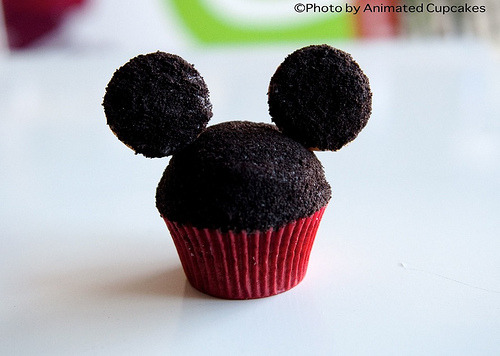Mickey Mouse Cupcakes (by Animated Cupcakes)