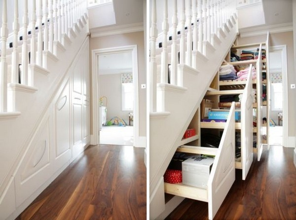 meghmerritt:  sav3mys0ul:  myidealhome: storage idea (via Practical Storage System Hidden Understairs)  So way better than that cubbard that is normally there.  Well, unless you're forced to take in your weirdo nephew with a scar on his forehead after his parents die in some kind of freak accident thing.