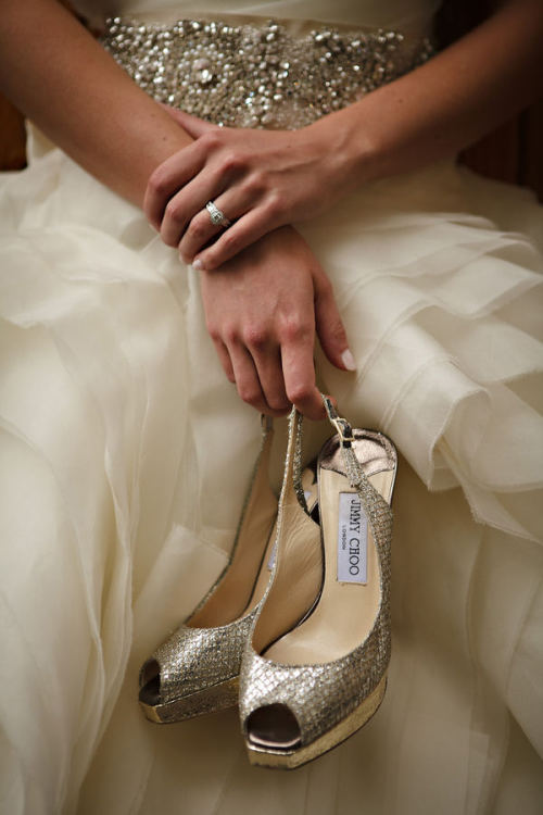 Jimmy Choo! (via Style Me Pretty)