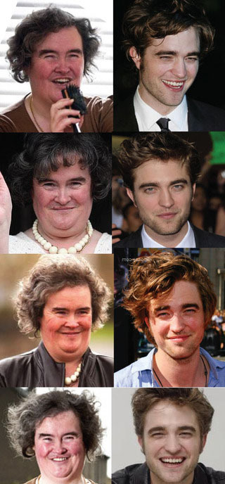 Susan Boyle vs Robert Pattinson