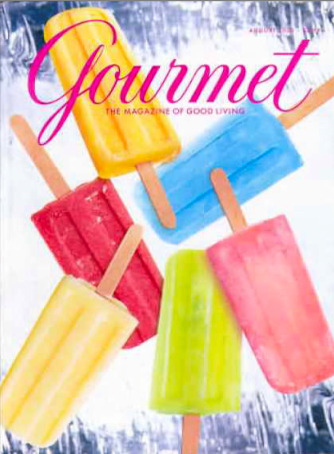 popculturecooking:  Gourmet, August 2000 Browse a full collection of covers from 1959–2007, right here.