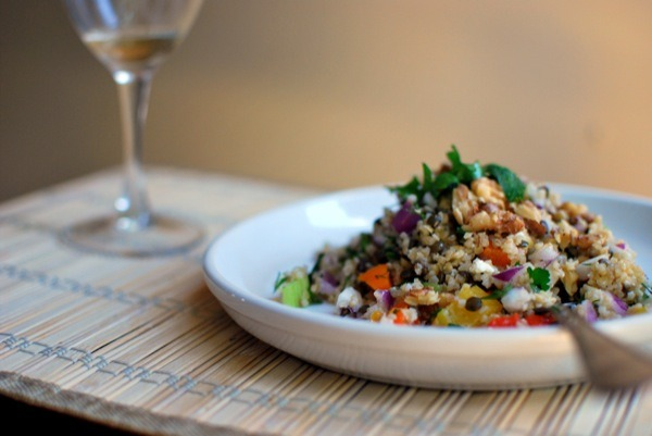Colorful Lentil and Bulgur Salad