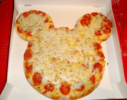 Disney Pizza by DolceDanielle on Flickr.