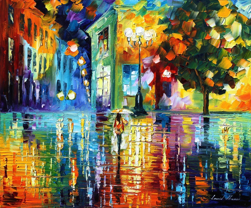 Wonderful Night by Leonid Afremov