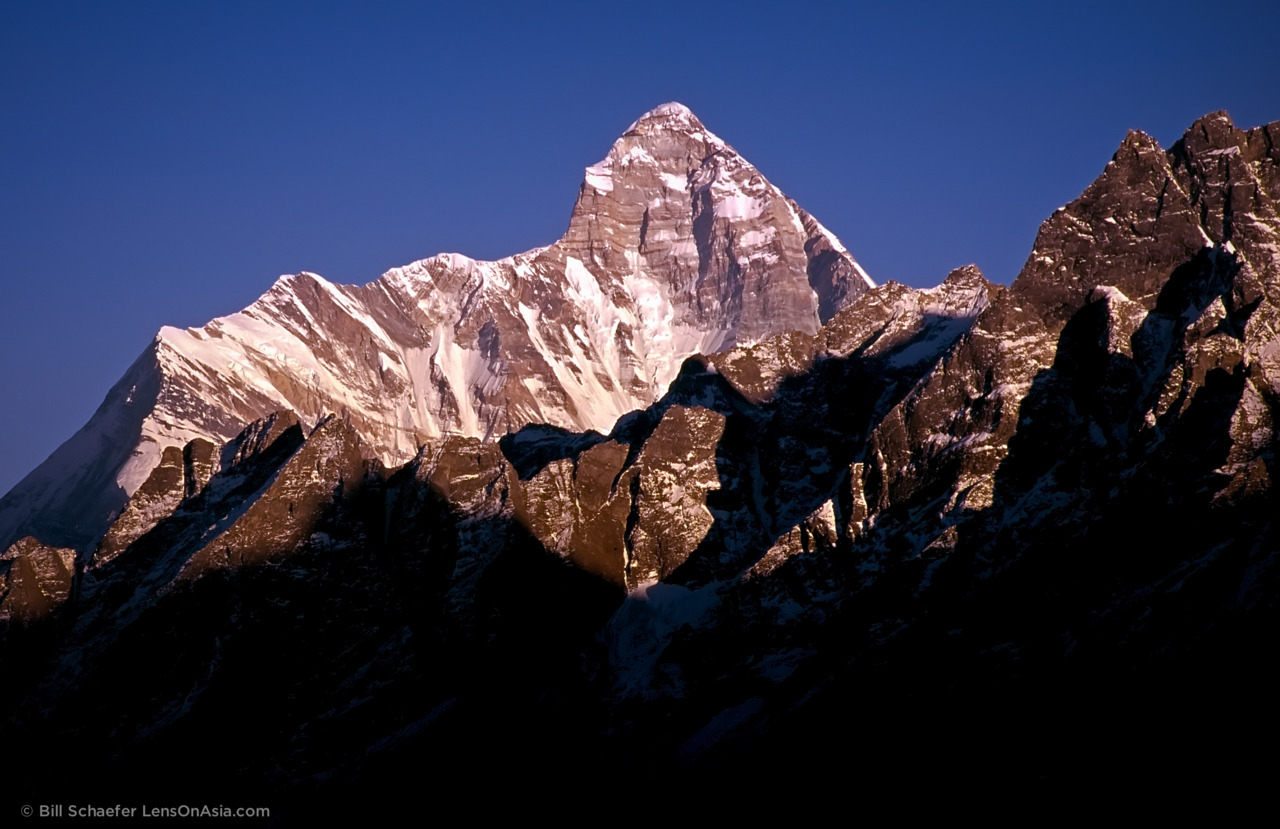 Nanda Devi, Garwhal, India. © 2011 Bill Schaefer