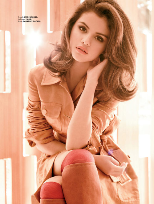 pinto:  (via Selena Gomez by Gomillion & Leupold for Elle Mexico August 2011)