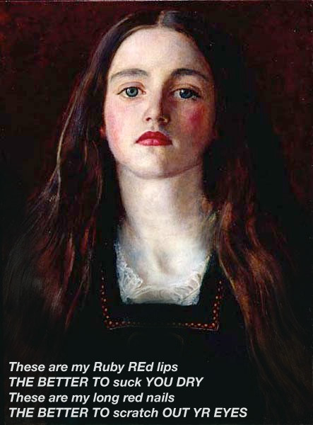Portrait of a Girl, John Everett Millais 1857