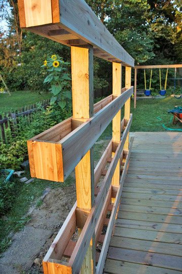 standing planter box woodworking plans 2