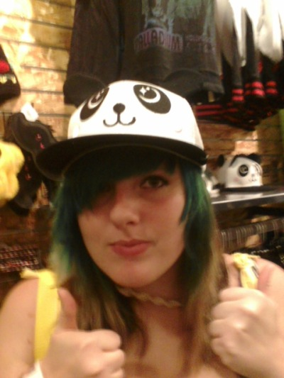 This is my best friend, shes a panda. I love her. (: A lot. :3