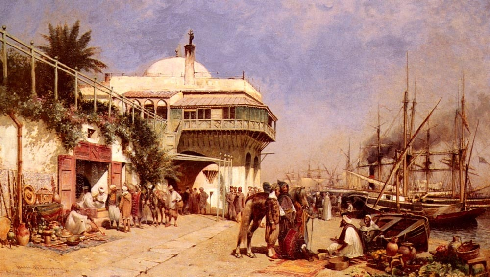 Thompson Alfred Wordsworth - The Port Of Algiers