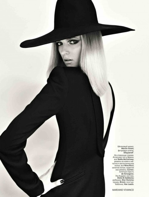 Daria Strokous for Vogue Russia -  August 2011