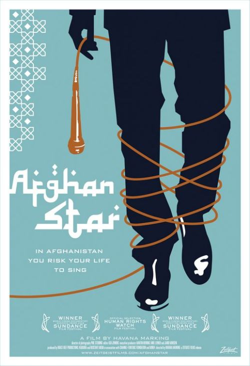 Afghan Star (2009)  P365 Film #204 This documentary film is about Afghanistan's version of American Idol, Afghan Star. It follows four different contestants trying to win the title - two men and two women. It's in a post-Taliban-ruled Afghanistan (where dancing and music were literally banned), but things are still strict. The women in the show in particular come under fire, receiving death threats for dancing and simply appearing on the show. As a believer in human rights, and women's rights in particular, I found this quite frustrating and hard to watch. It wasn't the most well-made documentary, I felt, but its content is certainly interesting enough to watch. I'm just so glad I don't live anywhere near that part of the world. Also, none of them actually seemed like good singers at all to me, but maybe it's just a very different style than I'm used to.