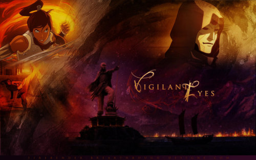Vigilante Eyes - Korra by PonDeReplay Download the wallpaper here.