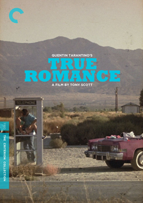 "maurader:  Criterion Cover for Tony Scott's ""True Romance"""