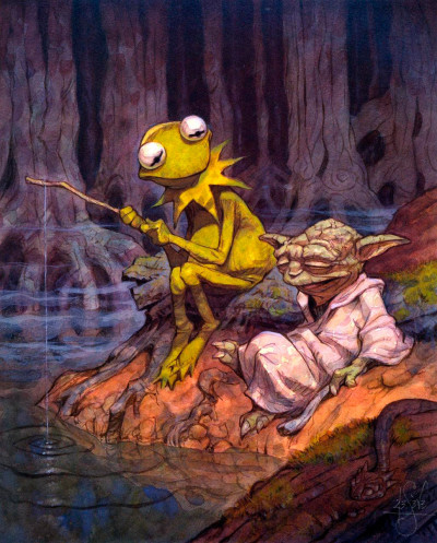 It's not easy… Peter De Seve's 'The Dagobah Connection'