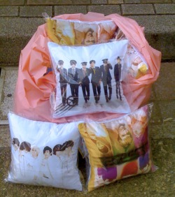 beast pillow says: hug me, please. [asia love <3]