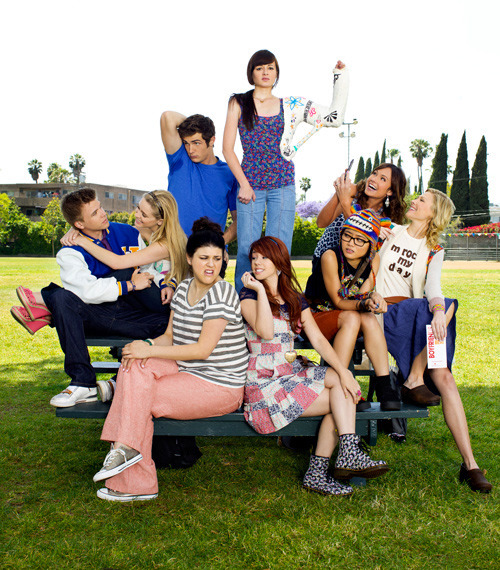 mtv:  fantasticat:  Cast of Awkward.  Um, are you guys watching this show yet? Because it's pretty much the greatest. #nojoke
