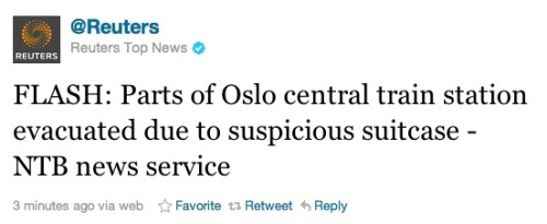 Suspicious suitcase found in Oslo: Let's hope that this is nothing. For everyone's sake.
