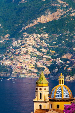 | ♕ |  Amalfi coast  | by © Brian Jannsen | via explore-the-earth