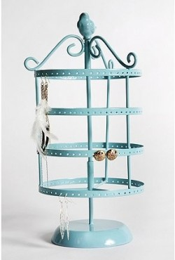 Spinning Birdcage Jewelry Stand from Urban Outfitters