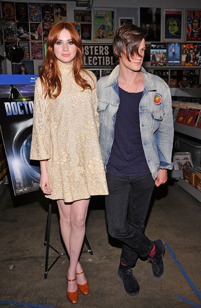 doctorwho:  Karen & Matt @ The Amoeba Music Signing