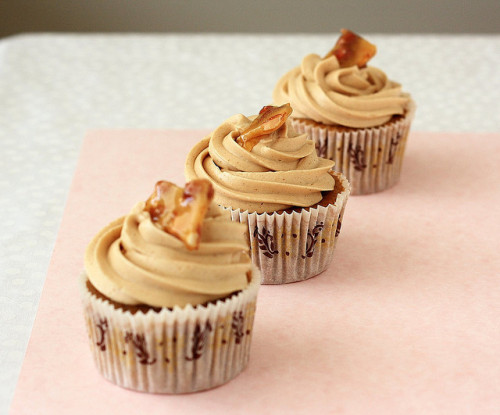 clottedcreamscone:  Coconut Coffee Cupcake with Peanut Butter Buttercream (Cupcake Hero::November) by Xiaolu // 6 Bittersweets on Flickr.