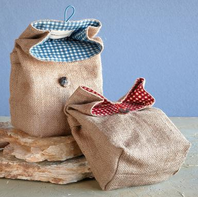 I really want to try and make these cute little brown bags! (Sundance)
