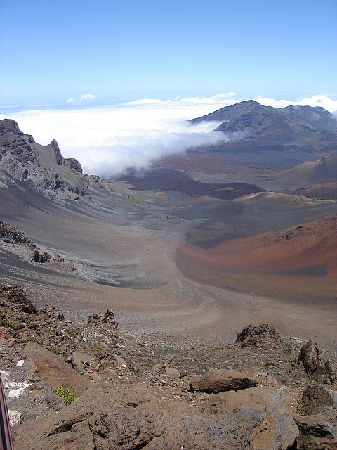 Haleakala, Maui. Tomorrow Mrs Fuiru and I will fly out to Victoria for her cousin's wedding on Salt Spring Island. Then, five days from today, we will be in Hawaii. Next week can't come soon enough.
