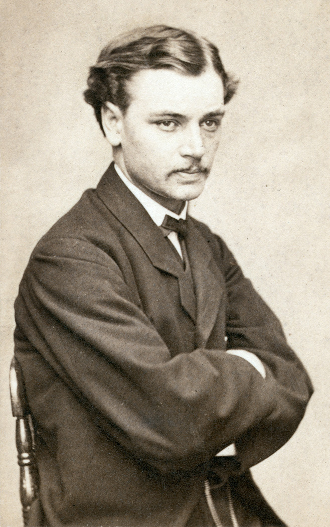 Robert Todd Lincoln, c. 1865. Abraham and Mary's first son, future Secretary of War, present at the assassination of two sitting presidents (though not his father's.) Look who's playing him in the Spielberg biopic next year… Via fuckyeahhistorycrushes