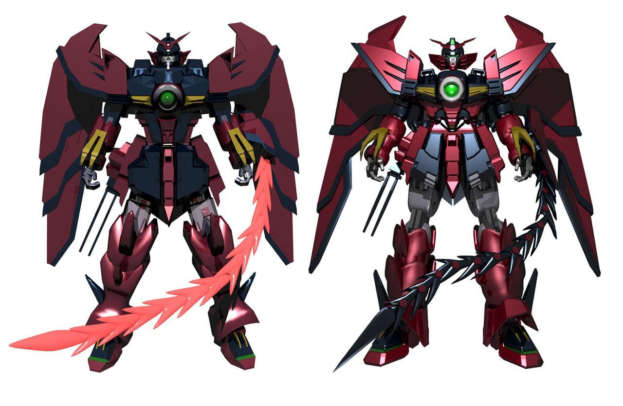 I'm beginning to think that I want a  OZ-13MS Gundam Epyon  tattoo, but with the mecha posing like a pinup.