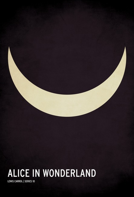 Your favorite children's books as minimalist posters by Christian Jackson.