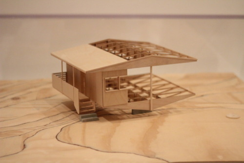 Marcel Breuer, Model made by Albert Marichal, Mario Mohan & Michael Nartey @ MoMA, NYC. Photograph by me