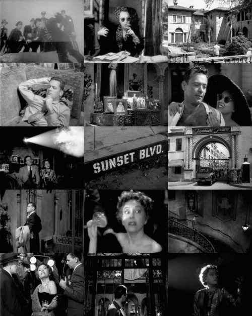 100 Favorite Movies (in no particular order)  Sunset Boulevard (1950)