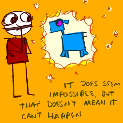 explodingdog:  it does seem impossible