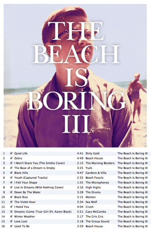 The Beach Is Boring III • Deli Sandwich The third installment to The Beach Is Boring mixes. This one is a little more mellow. >DOWNLOAD< And if you missed out on the previous mixes, you can download them here: • The Beach Is Boring I • >DOWNLOAD<• The Beach Is Boring II • >DOWNLOAD< P.S. Support your artists.