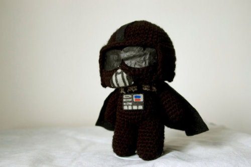 lascosasdebyakko:  Darth Vader amigurumi by *pirateluv