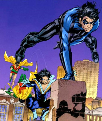 eyesforsight:  The evolution of Dick Grayson.