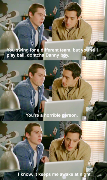 You gotta love stiles! <3 :}