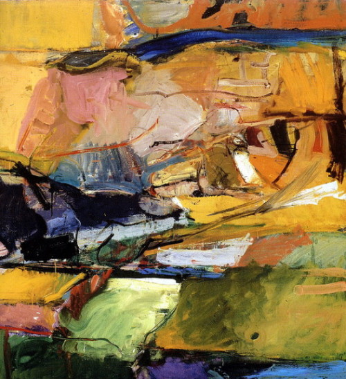 paperimages: 1955 Richard Diebenkorn (American 1922-93) ~ Berkeley No. 57