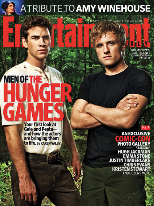 The men of 'The Hunger Games'