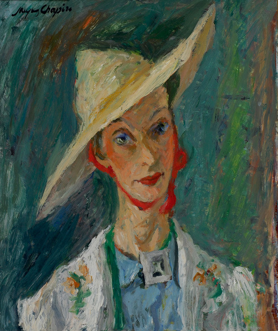 Jacques Chapiro Woman with a Hat link