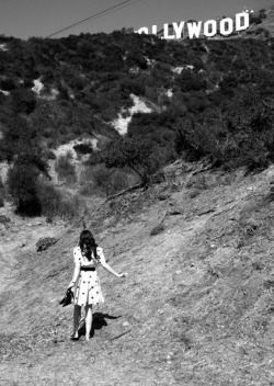 next year, this will be me. frolicking in the hollywood hills, chasing after my dreams…