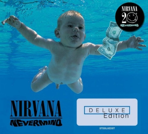 "TEENAGE ANGST TO PAY OFF WELL AGAIN: Nirvana's deluxe NEVERMIND coming out on September 27.  4CDs/1DVD, including Butch Vig's original mix of the album.  Slicing Up Eyeballs has the scoop. One interesting tidbit from Wikipedia (via Michael Azerrad's book Come As You Are), about the once again ""controversial"" (due to Facebook) album cover:  Geffen prepared an alternate cover without the penis, as they were  afraid that it would offend people, but relented when Cobain made it  clear that the only compromise he would accept was a sticker covering  the penis that would say, ""If you're offended by this, you must be a  closet pedophile."""