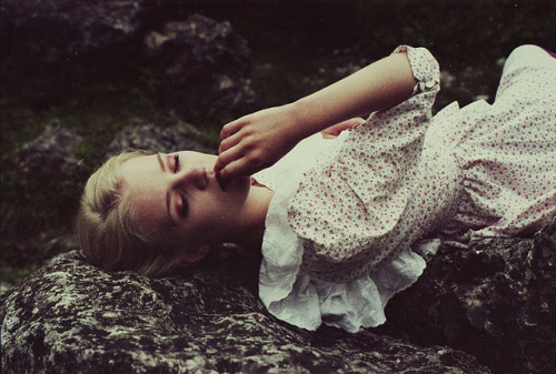 woke up feeling heavy hearted by .joanna.galuszka. on Flickr.Me too…